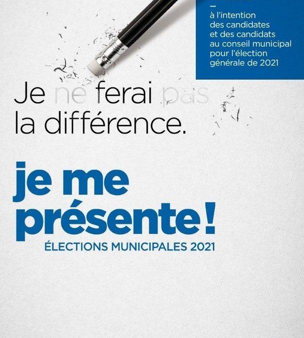 Trousse de mise en candidature – Élections municipales 2021